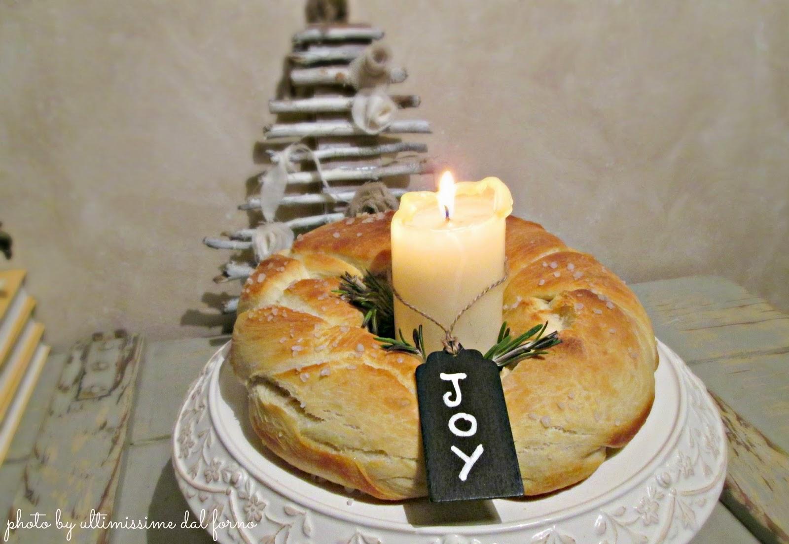 Una ciambella e una candela, chic!