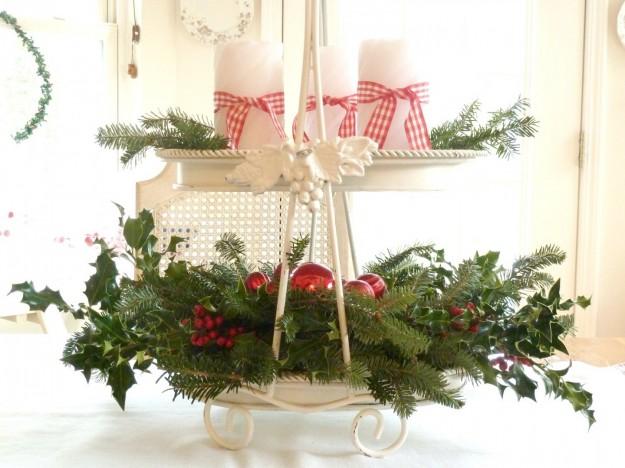 Centrotavola fai da te - Rami decorativi natalizi ...
