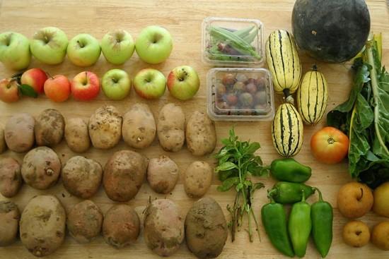 frutta e verdure consumare